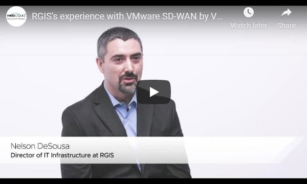 RGIS's experience with VMware SD-WAN by VeloCloud